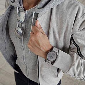 MVMT Voyager Watches | 42 MM Men's Analog Watch | Monochrome