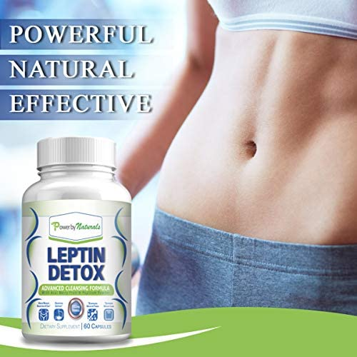 Power By Naturals - Leptin Detox - Advanced Colon Cleanser - Flush Excess Waste and Toxin - Gas, Constipation, Bloating Relief, Super Cleanse for Weight Loss for Women and Men - Vegan - 60 Diet Pills 7