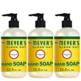 Mrs. Meyer's Clean Day Liquid Hand Soap, Honeysuckle Scent, 12.5 fl oz (3 ct)