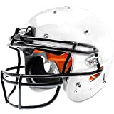 Schutt Recruit Hybrid Youth Football Helmet with Facemask White XL