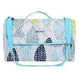 SONGMICS Picnic Blanket Machine Washable Beach Mat Water-Resistant Portable Outdoor Blanket 77' x 59' UGCM80UW