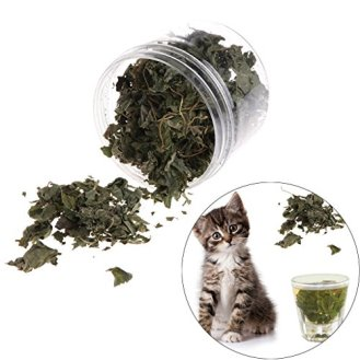 Qupida-Cat-Catnip-Flavor-Snacks-Natural-Silvervine-Leaves-Dried-Polygonum-Matatabi-Cat-Catnip-Treats