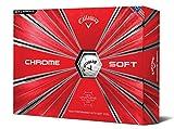 Callaway Golf Chrome Soft Golf Balls, (One Dozen)