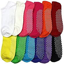 Non Slip Skid Socks with Grips, For Hospital, Yoga, Pilates,