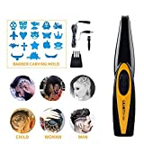 LFM Rechargeable Cordless Hair Clippers Barber Scissors Carved Carving Tools