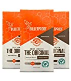 Bulletproof The Original Whole Bean Coffee, Premium Medium Roast Organic Beans, 3-Pack