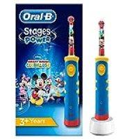 Oral-B Braun D 10.511 Kinderzahnbürste Blau/Gelb