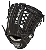 Louisville Slugger 11.5-Inch FG Pro Flare Baseball Infielders Gloves, Black, Right Hand Throw