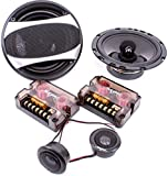 Skar Audio VXI65 350-Watt 6.5' 2-Way Component Car Speaker System