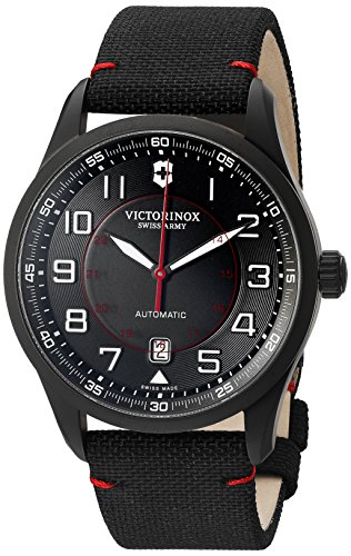 Victorinox Men's 'AirBoss' Swiss Stainless Steel Automatic Watch (Model: 241720)
