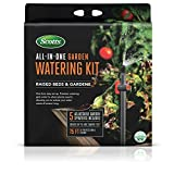 Scotts All-in-One Garden Watering Kit - Includes 75 ft. of Professional Tubing, Precision Watering for Raised Beds and Gardens, Covers up to 430 sq ft