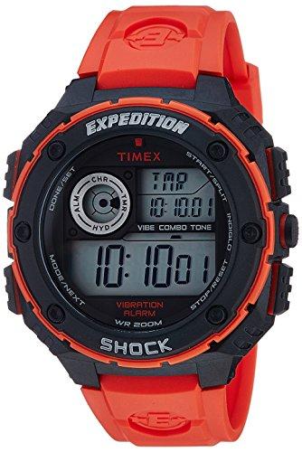 Timex Men's T499849J Expedition Digital Display Quartz Red Watch