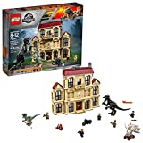 LEGO Jurassic World Indoraptor Rampage at Lockwood Estate 75930 Popular Building Kit, Best Fallen Kingdom Indoraptor Dinosaur Toy (1019 Pieces)