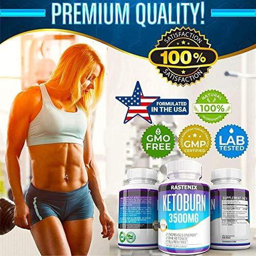 Keto Pills - 3X Potent (2 Pack | 180 Capsules) - Advanced Keto Burn Diet Pills - Boost Energy and Metabolism - Exogenous Keto BHB Supplement for Women and Men (2 Pack) 8