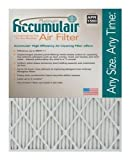 Accumulair Platinum 17x21x1 (Actual Size) MERV 11 Air Filter/Furnace Filters (6 pack)