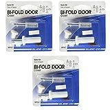 Slide-Co 161907 Bi-Fold Door Guide Kit, 3 Pack