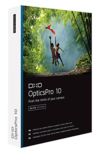 DxO Labs Optics Pro 10 Elite Edition Photo Enhancing Software for Macintosh & Windows - for Full Frame & Crop Format Cameras
