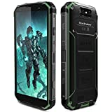 Rugged Cell Phone Unlocked, Blackview BV9500 Rugged Smartphone Waterproof 4G IP68 Dual SIM 4GB+64GB ROM 5.7' FHD+IPS 10000mAh [MIL-STD 810G] Octa Core 2.5GHz for AT&T Verizon T-Mobile (Green)
