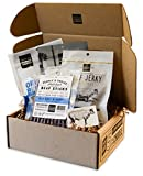 People's Choice Beef Jerky - Jerky Box - Simple & Savory - Meat Snack Sampler Gift Basket - 4 Items