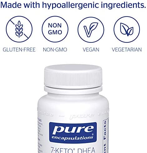 Pure Encapsulations - 7-Keto DHEA 100 mg - Unique DHEA Metabolite to Support Thermogenesis and Healthy Body Composition - 120 Capsules 6