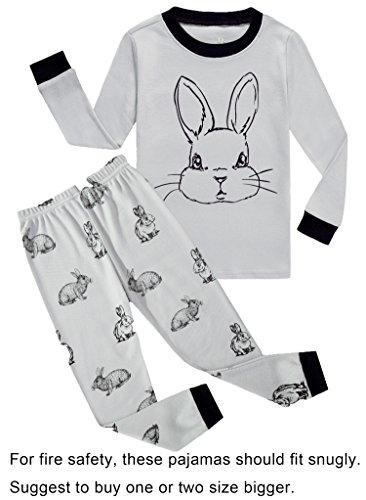 Little Boys Rabbit Easter PJs