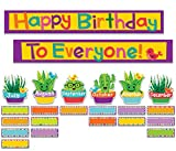 Eureka A Sharp Bunch Teacher Supplies Student Birthday Bulletin Board Set, 47 pcs