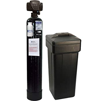 Pentair 5600sxt-48k AFW Filters water softener with AFW Install kit Fleck 48,000 Grain of Upgraded HIGH Capacity 10% Resin, Black