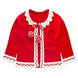 Product review for Iridescentlife Wool Baby Girl Sweater Pullover Knitting Crochet Cotton Top Cardigan For Toddler Infant 2-6 Years Fall