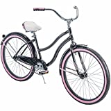 Huffy* 26' Cranbrook Women's Cruiser Bike with Perfect Fit Frame, Black