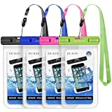 ZEINZE Waterproof Case Universal Waterproof Phone Bag Pouch Drg Bag for iPhone 11 Pro Max XS Max XR X 8 7 6S Plus Galaxy Pixel Up to 6.5
