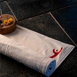 Cotton Yug Sadhana Cotton Yoga Mat – 8mm thick | Machine Washable, Sweat Absorbent & Eco-friendly material | Comes with…