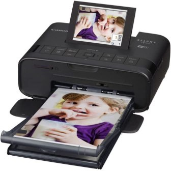 Canon Selphy CP1300 portable photo printer