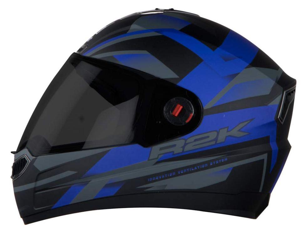 Steelbird SBA-1 R2K Full Face Graphics Helmet under Motorcycle Gadgets & Accessories