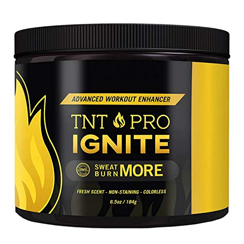 Fat Burning Cream for Belly – TNT Pro Ignite Sweat Cream for Men and Women – Thermogenic Weight Loss Workout Slimming Workout Enhancer (6.5 oz Jar) 3