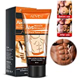 Fat Burning Cream,Abdominal Muscle Cream Fat Burner Cellulite Creams Tighten Muscles, Slimming Enhancer Workout Coconut Body Cream for Weight Losing