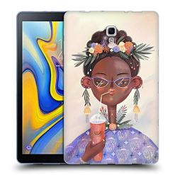 Official Oilikki Woman Assorted Designs Soft Gel Case Compatible for Samsung Galaxy Tab A 10.5 2018