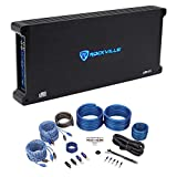 Rockville dB55 4000w Peak / 980w RMS @ 2 Ohm CEA Compliant Mono Car Amplifier+Amp Kit Loud !