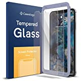 Caseology Screen Protector for iPhone Xs Max Tempered Glass (2018) - 2 Pack