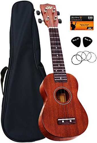 Ready Ace Ukulele Complete Starter Pack Music Set