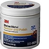 3M 09019 Marine Metal Restorer and Polish (18-Ounce Paste)