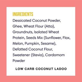 Lo-Low-Carb-Delights-Coconut-Ladoo-Keto-Sweets-Only-28-GMS-Net-Carbs-Sugar-Free-Indian-Sweets-Lab-Tested-Keto-Food-Products-240-g