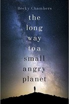 The Long Way to a Small Angry Planet UK cover