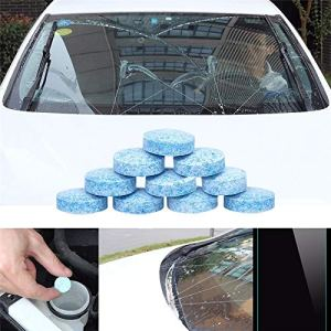 HSR 10PCS/1Set Car Wiper Detergent Effervescent Tablets Washer Auto Windshield Cleaner Glass Wash Cleaning Compact Concentrated Tools