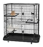 Prevue Pet Products Premium/Deluxe Cat Home, Black