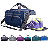 Venture Pal 24' Large Packable Sports Gym Bag with Wet Pocket & Shoes Compartment Travel Luggage Duffel Bag for Men and Women