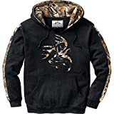 Legendary Whitetails Camo Outfitter Hoodie, Onyx, X-Large