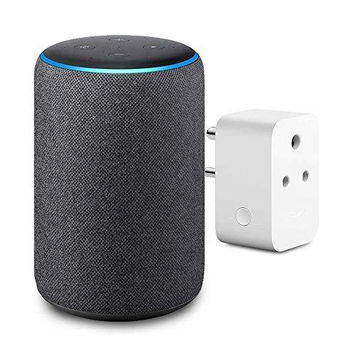 Amazon Echo (3rd Gen) with Amazon Smart Plug
