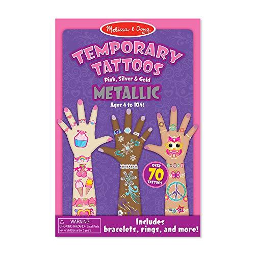 Melissa & Doug Metallic Temporary Tattoos - LOW PRICE!