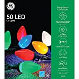 GE Energy Smart Colorite 50-Light LED Multi-Color C9 Light Set Holiday, Party, Christmas