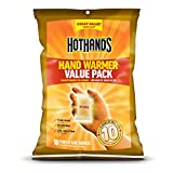 HotHands Hand Warmers - Long Lasting Safe Natural Odorless Air Activated Warmers - Up to 10 Hours of Heat - 10 Pair Value Pack